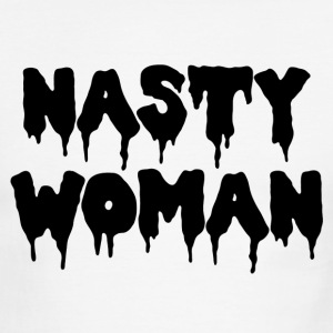 NASTY WOMAN - Men's Ringer T-Shirt