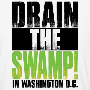 #DrainTheSwamp in D.C. - Baseball T-Shirt