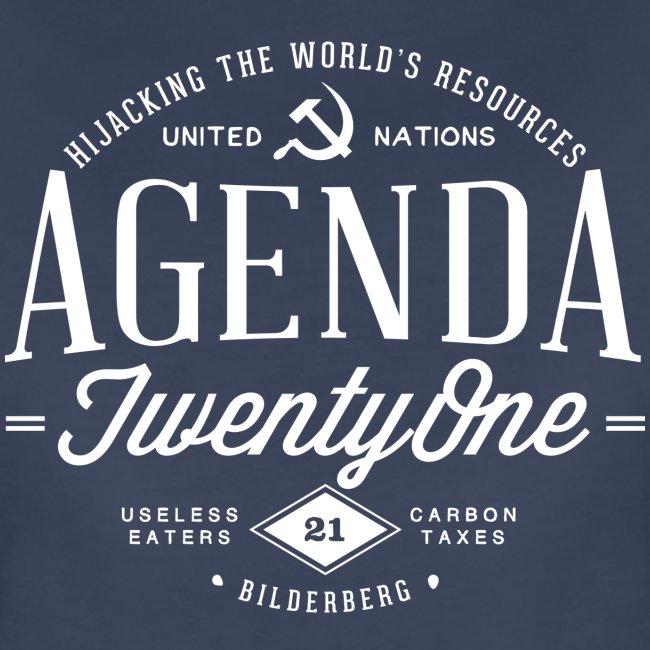 Agenda 21 Womens T-Shirt