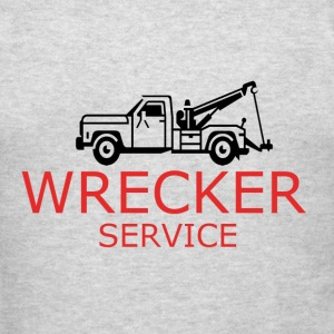 Wrecker service (add your name) - Men's T-Shirt