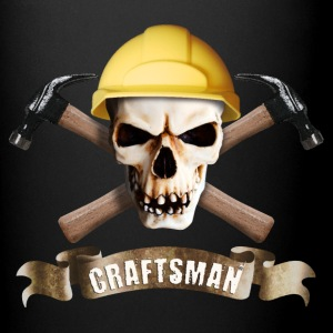 craftsman_hammer_skull_a Mugs & Drinkware - Full Color Mug