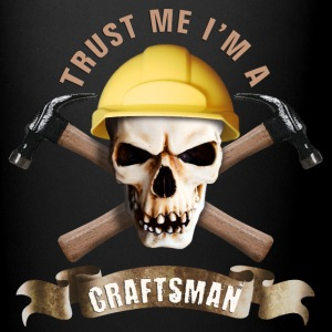craftsman_hammer_skull_b Mugs & Drinkware - Full Color Mug