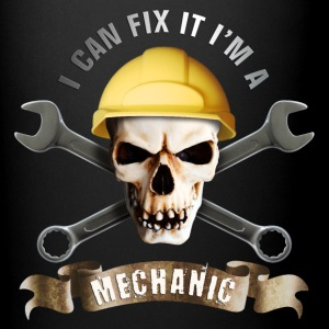 craftsman_mechanic_skull_c Mugs & Drinkware - Full Color Mug