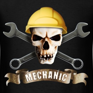 craftsman_mechanic_skull_a T-Shirts - Men's T-Shirt