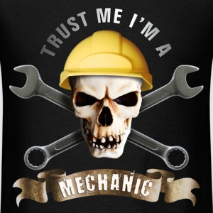 craftsman_mechanic_skull_b T-Shirts - Men's T-Shirt