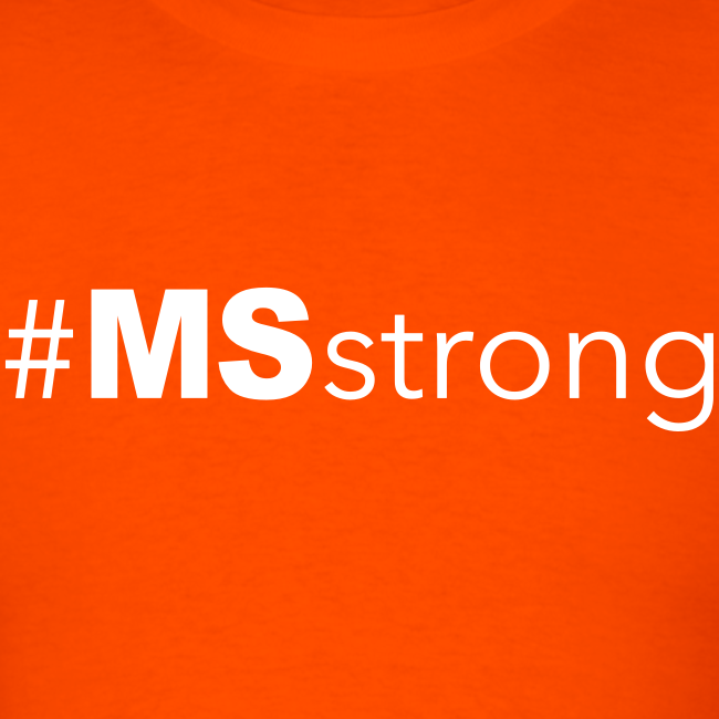 #MSstrong - Men's T-Shirt