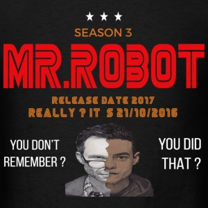 Mr ROBOT - Men's T-Shirt