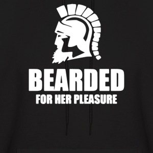 Bearded For Her Pleasure - Men's Hoodie