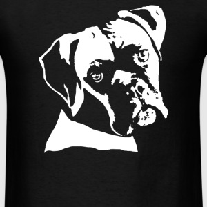 boxer dog pillow - Men's T-Shirt