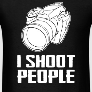 Camera I Shoot People 2 - Men's T-Shirt