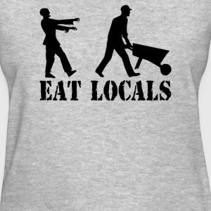 eat locals - Women's T-Shirt