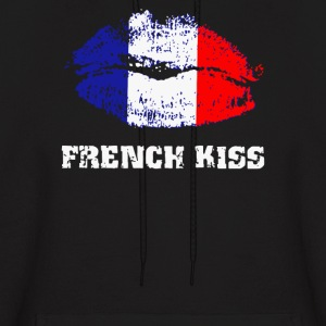 French Kiss - Men's Hoodie
