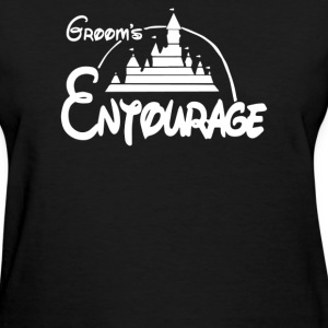 Groom's Entourage Disney - Women's T-Shirt