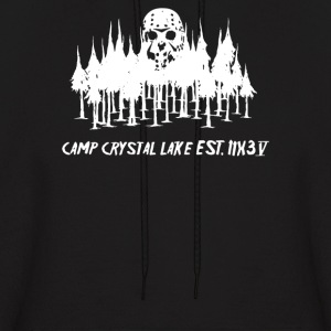 Horror Camp Crystal Lake Est IIX3 V - Men's Hoodie