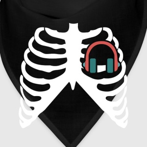 MY HEART BEATS FOR MUSIC - I LOVE MUSIC! Caps - Bandana