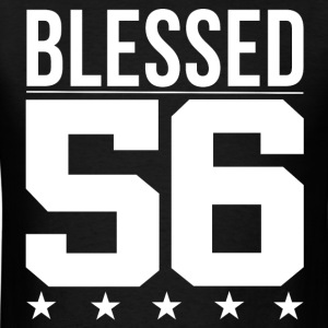 Blessed 1956 Bible Verse Quote Birthday Greeting T-Shirts - Men's T-Shirt