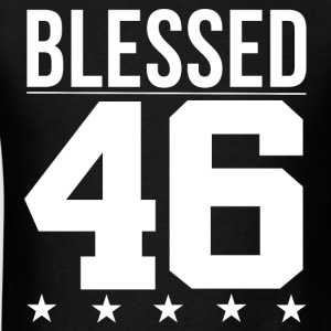Blessed 1946 Bible Verse Quote Birthday Greeting T-Shirts - Men's T-Shirt