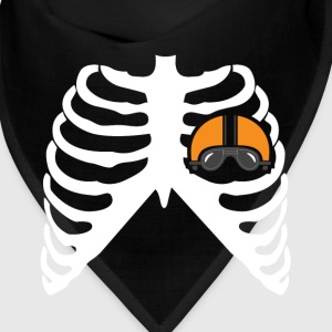 MY HEART BEATS FOR MOTORCYCLE - I LOVE MOTORCYCLE! Caps - Bandana