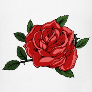 Halloween Rose - Men's T-Shirt