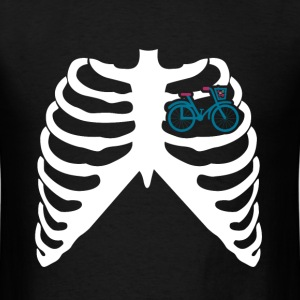 MY HEART BEATS FOR BICYCLES - I LOVE MY BIKE! T-Shirts - Men's T-Shirt