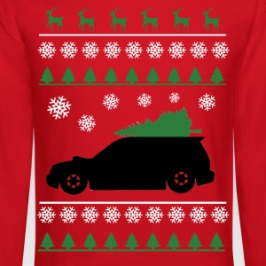 Forester XT Christmas Sweater (white snowflakes)  - Crewneck Sweatshirt