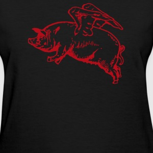 Flying Pig - Women's T-Shirt