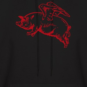 Flying Pig - Men's Hoodie