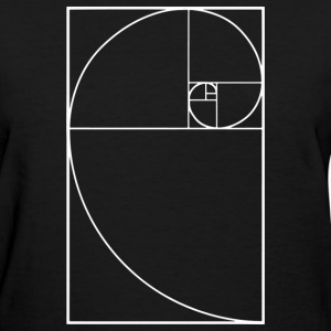 Golden Spiral - Women's T-Shirt