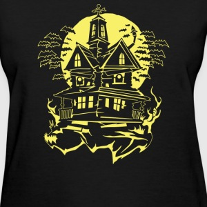 Haunted House - Women's T-Shirt