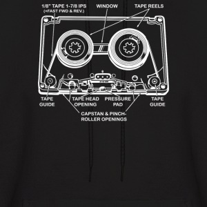 Mix Tape Anatomy - Men's Hoodie