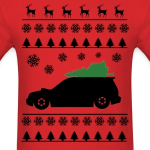 Forester XT Christmas Sweater (Black) T-Shirts - Men's T-Shirt