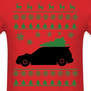 Forester XT Christmas Shirt (Green)  - Men's T-Shirt