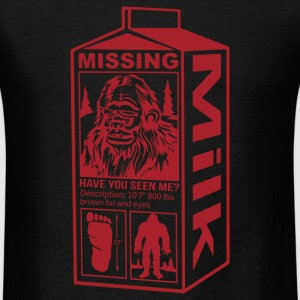 Sasquatch Milk Carton - Men's T-Shirt