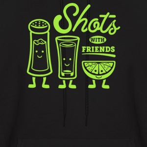 Shots With Friends - Men's Hoodie