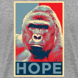 harambe hope  T-Shirts - Men's Premium T-Shirt