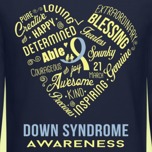Down syndrome Heart Wordle