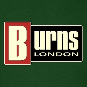 vintage burns london - Men's T-Shirt