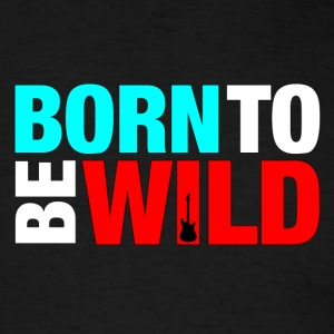 colorful born wild - Men's T-Shirt