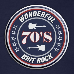 70's brit rock - Men's T-Shirt