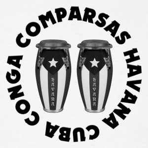 conga comparsas gray - Men's T-Shirt