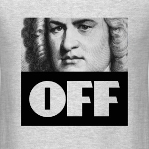 Bach Off Men - Men's T-Shirt