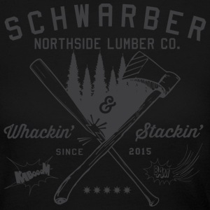 Schwarber Northside Lumber Co - Women's Long Sleeve Jersey T-Shirt