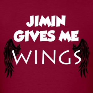 Jimin Gives Me Wings Shirt - Men's T-Shirt