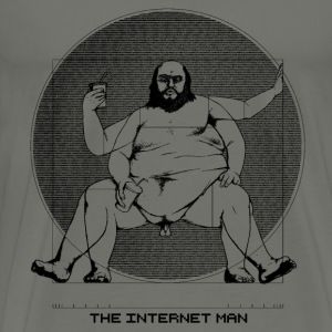 Internet Man - Men's Premium T-Shirt