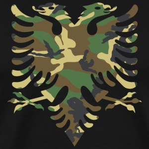 Albanian Military Flag - Men's Premium T-Shirt