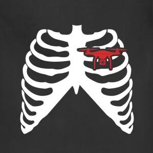 MY HEART BEATS FOR DRONES - I LOVE DRONES! Aprons - Adjustable Apron
