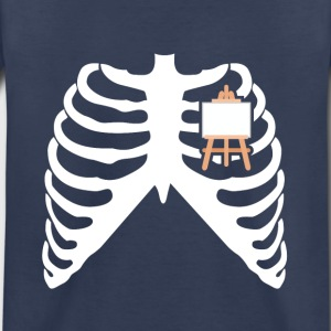 MY HEART BEATS FOR PAINTING - I LOVE TO PAINT! Baby & Toddler Shirts - Toddler Premium T-Shirt