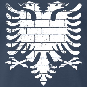 Albanian Flag Wall - Men's Premium T-Shirt