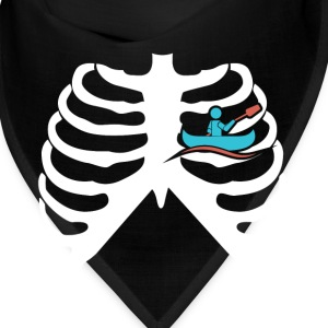 MY HEART BEATS FOR KAYAKS - I LOVE KAYAKS! Caps - Bandana