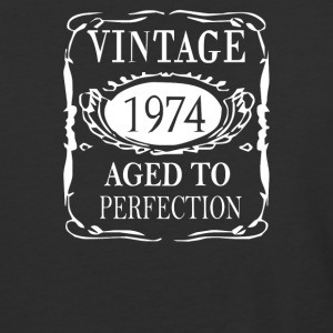 40th Birthday Vintage 1974 - Baseball T-Shirt
